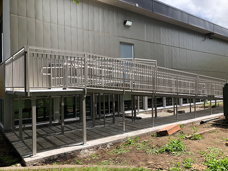 Centralia College Welcome Ramp Systems